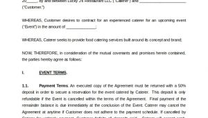Contract Template Doc Simple Contract Template 9 Download Free Documents In