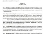 Contract Templates for Consultants 17 Consulting Contract Templates Docs Pages Free