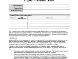 Contract Transition Plan Template 40 Transition Plan Templates Career Individual