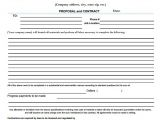 Contract Work Proposal Template 13 Sample Contractor Proposals Sample Templates