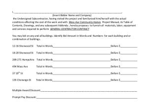 Contractor Contract Template Sample Contractor Contract form 7 Free Documents In Pdf