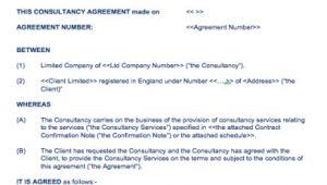 Contractor Ir35 Contract Template Ir35 Contract Template Resources for Contractors It