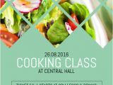 Cooking Class Flyer Template Free Cooking Classes Class Course Flyer Template Postermywall