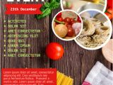 Cooking Class Flyer Template Free Cooking Classes event Flyer Template Postermywall