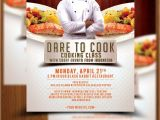 Cooking Flyers Templates Free Cooking Class Flyer Template Elliptyzz Sellfy Com