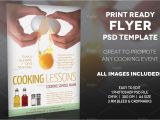 Cooking Flyers Templates Free Cooking Lessons 2 A4 Flyer Template Flyer Templates