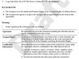 Copyright Contract Template Uk assignment Of Intellectual Property Template assign