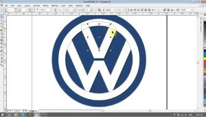 Corel Draw Logo Templates Volkswagen Logo Design Tutorials In Corel Draw Youtube
