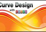 Corel Draw X7 Wedding Card Curve Design Background In Coreldraw X7 with Cdtfb with