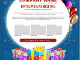 Corporate Birthday Email Template 9 Happy Birthday Email Templates HTML Psd Free