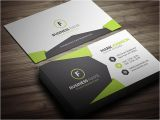 Corporate Business Card Templates Free Download Geometric Style Corporate Business Card Template Free