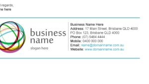 Corporate Email Signature Template How to Enhance Your Signature Line to Reflect Your Company