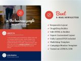 Corporate Email Template Design Bunt Corporate Email Template Other Platform Email