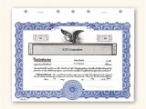 Corporate Stock Certificate Template Word Corporate Stock Certificates