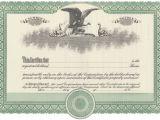 Corporate Stock Certificates Template Free Blank Stock Certificate Free Printable Documents