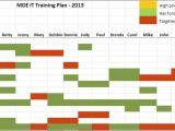 Corporate Training Calendar Template Employee Training Plan Template Peerpex