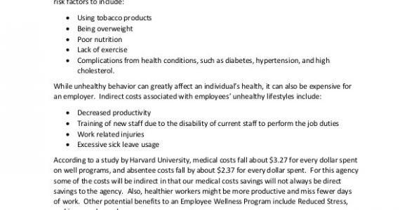 Corporate Wellness Proposal Template Program Proposal Template 11 Free Word Pdf Documents