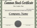Corporation Stock Certificate Template Corporation Stock Certificate Blank Certificates