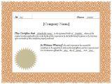 Corporation Stock Certificate Template Stock Certificate Stock Certificate Template