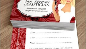Cosmetologist Business Card Templates Cosmetologist Business Card Template