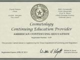 Cosmetology Certificate Template Texas School Texas School Cosmetology