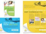 Counseling Brochure Templates Free Consumer Credit Counseling Flyer Ad Template Design