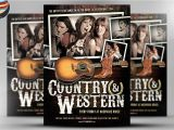 Country Western Flyer Template Free Country and Western Flyer Template 2 Flyer Templates On