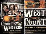 Country Western Flyer Template Free Country and Western Flyer Template 2 Flyerheroes