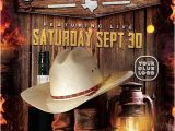 Country Western Flyer Template Free Country Artist event Flyer Template Western Country