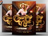 Country Western Flyer Template Free Country Night Western Flyer Template On Behance