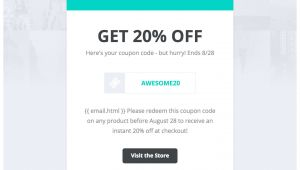 Coupon Email Template Drip Email Templates Easy to Import Drip Email Templates