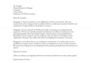 Cover Letter Addressed to Human Resources Cover Letter Addressed to Hr the Letter Sample