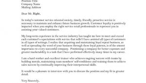 Cover Letter Examples for Customer Service Positions Customer Service Job Resume Cover Letter Govt Jobcover