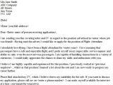 Cover Letter Examples for Flight attendant Job Flight attendant Cover Letter Sample Lettercv Com