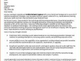 Cover Letter Examples for It Professionals Sample Professional Cover Letter Pdf Collegeconsultants