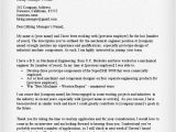 Cover Letter Examples for Mechanical Engineers Engineering Cover Letter Templates Resume Genius