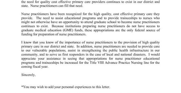 Cover Letter Examples for Nurse Practitioners Nurse Practitioner Cover Letter Resume Badak