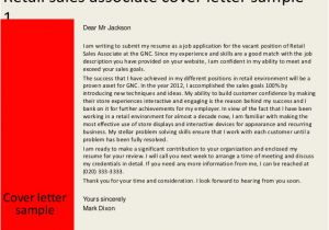 Cover Letter Examples for Retail Sales associate with No Experience Welcome to Cdct