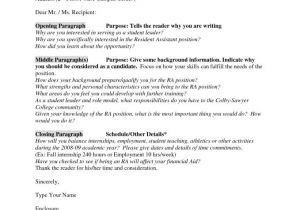 Cover Letter Examples without Contact Name Cover Letter without Name Resume Badak