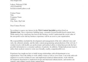 Cover Letter Examples without Contact Name the Amazing Along with Beautiful Cover Letter without Name