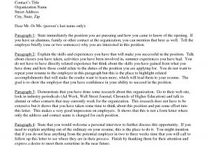 Cover Letter Fomat Cover Letter Standard format Best Template Collection