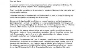 Cover Letter for A Consulting Firm Consulting Cover Letter Sample Resume Badak