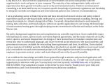 Cover Letter for A Consulting Firm Senior Cover Letter Consulting