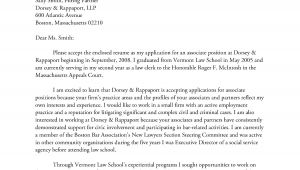 Cover Letter for A Law Firm Law Firm Cover Letter Sample the Letter Sample