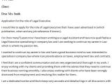 Cover Letter for A Law Firm Legal Executive Cover Letter Example Icover org Uk