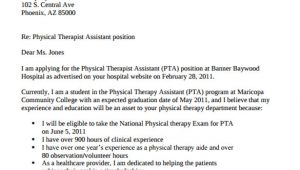 Cover Letter for A Physical therapist 10 Physical therapist Cover Letters Sample Templates
