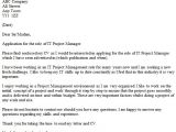 Cover Letter for A Project Manager Position It Project Manager Cover Letter Example Icover org Uk
