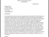 Cover Letter for A Senior Management Position Professional Senior Manager Cover Letter Sample Writing
