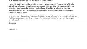 Cover Letter for A Server Position Best Server Cover Letter Examples Livecareer
