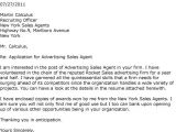 Cover Letter for Ad Agency Advertising Agency Cover Letter Sarahepps Com